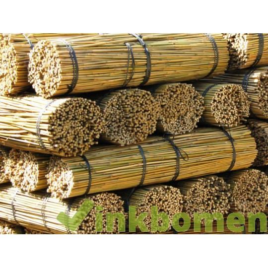 Bamboestokken 120cm 4v. 12-14mm